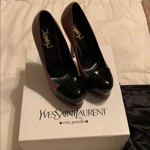 Yves Saint Laurent shoes / pumps size 37  size 7